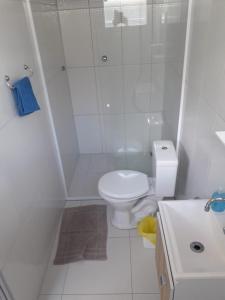 Um banheiro em Pouse Bem