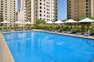 The swimming pool at or near Delta Hotels by Marriott Jumeirah Beach, Dubai