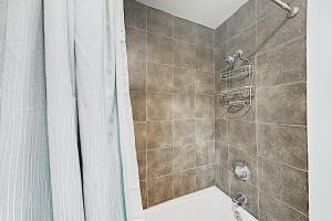 A bathroom at Find your happy place on Hilton Head Island! villa