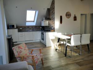 Kuhinja oz. manjša kuhinja v nastanitvi PR`FIK Apartments