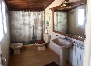 A bathroom at Casa Albores Priegue