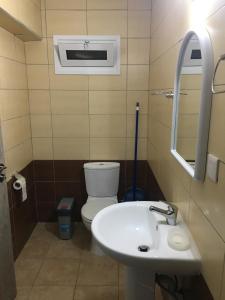 Vonios kambarys apgyvendinimo įstaigoje Livadia studio