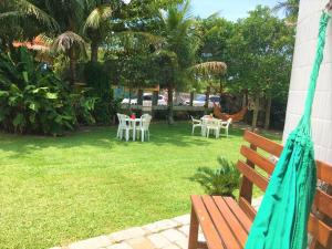 Jardín al aire libre en Residencial Pontal Campeche