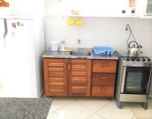 Una cocina o zona de cocina en Residencial Pontal Campeche