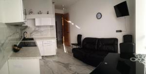 Гостиная зона в Apartment on Frantsuz'ky Bulvar