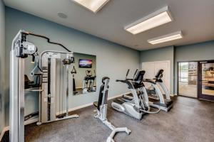 The fitness center and/or fitness facilities at Stay Alfred at The James