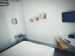 TV/Unterhaltungsangebot in der Unterkunft Colmar Suites