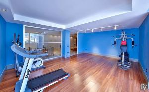 The fitness center and/or fitness facilities at Kalkan Villa Sleeps 10 with Pool Air Con and WiFi