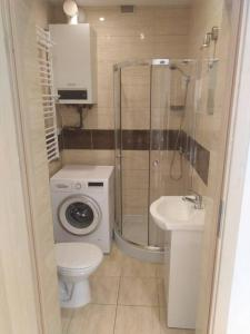 A bathroom at Apartament PALOMA 2