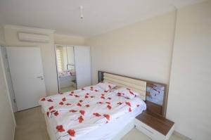 Кровать или кровати в номере Vesta Garden