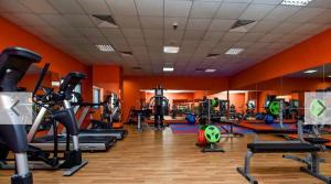The fitness center and/or fitness facilities at AL MARSA