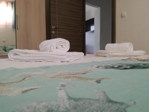 Krevet ili kreveti u jedinici u objektu Apartman Barisic