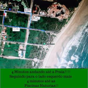 Uma vista aérea de Flats Praia do Paiva