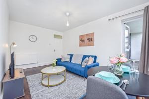 Ein Sitzbereich in der Unterkunft Suites by Rehoboth - Kings College Hospital - Camberwell