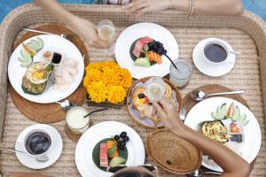 Breakfast options available to guests at Alaya Dedaun Kuta