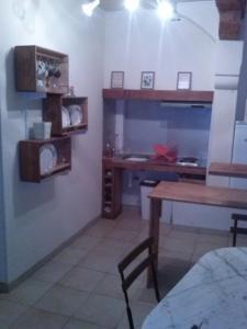A kitchen or kitchenette at Le Massanous