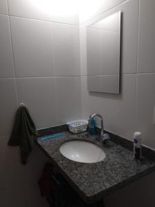 A bathroom at Apartamento Salvador Prime - 28 Andar