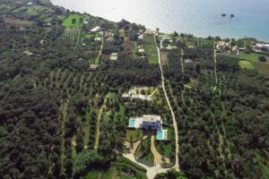 A bird's-eye view of Almyra Villas