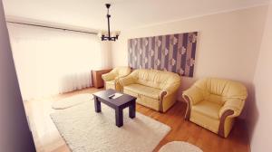 O zonă de relaxare la Măgurei Apart 4 rooms