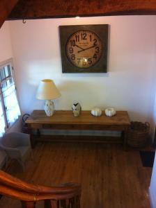Coin salon dans l'établissement Appart's Village Trama Loges