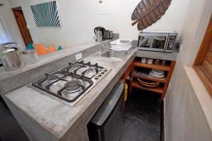 A kitchen or kitchenette at Villas Sur Mer
