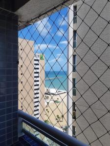 A balcony or terrace at Apartamento na Beira-Mar Fortaleza