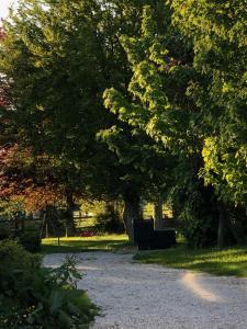 A garden outside Ferme de l'Eglise