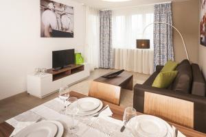TV/Unterhaltungsangebot in der Unterkunft IG City Apartments Campus Lodge
