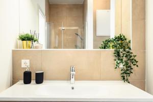 Ein Badezimmer in der Unterkunft Wohnpark Graz-Gösting