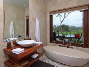 Um banheiro em Uma Stana Villa