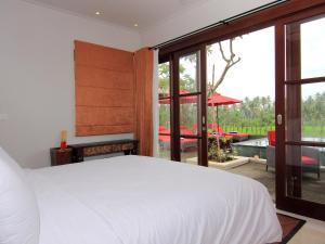 Cama ou camas em um quarto em Uma Stana Villa