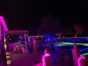 A restaurant or other place to eat at Holiday Villa in Ibiza