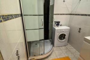 Ванная комната в 1-комнатная квартира с капитальным ремонтом «под евро».