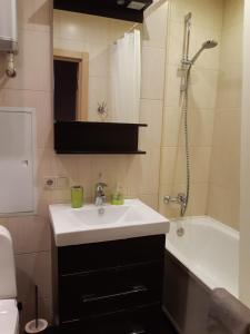 A bathroom at Apartment Dmitrovka Center