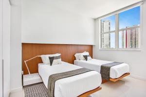 Cama ou camas em um quarto em OB Brickell Miami