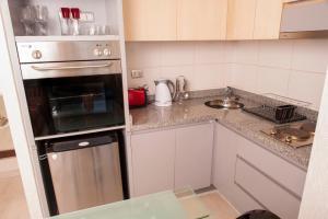 Una cocina o zona de cocina en Chilean Suites and Apartment