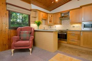 A kitchen or kitchenette at Macdonald Lochanhully Resort