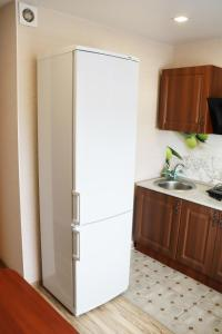 A kitchen or kitchenette at Karjala Home on Pervomaysky