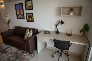 A seating area at Onix Bueno Residence