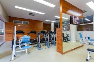 The fitness centre and/or fitness facilities at Apartamento Vision 2