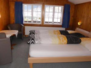A bed or beds in a room at Apartment In dr Schluecht