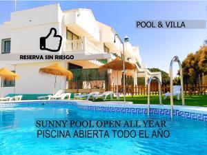Roquetas Beach and Playa Serena Golf Village
