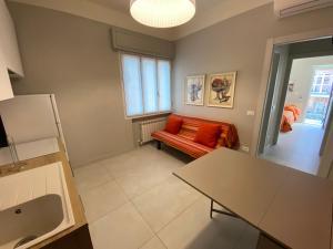 Area soggiorno di Victoria Apartments