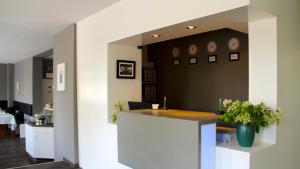 Lobby/Rezeption in der Unterkunft Apartment Hotel Lindeneck
