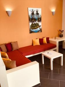 Area soggiorno di Cala da Lua apartments