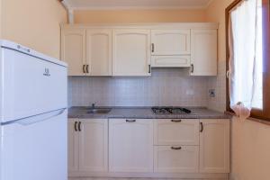 A kitchen or kitchenette at Il Castelluccio