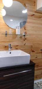A bathroom at Willa na Wilcznik
