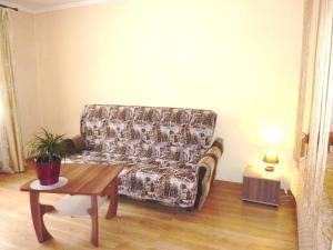 Area soggiorno di Apartment Brateevskaya 27