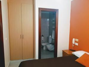 Un baño de Porta Nova Apartamentos