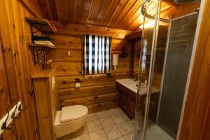 Vannituba majutusasutuses Sunndalsfjord Cottages Fredsvik